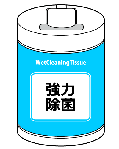 Wet-cleaning-tissue